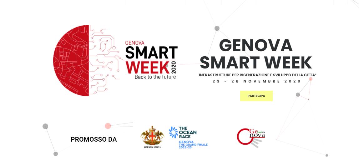 GENOVA SMART WEEK Soluzioni e infrastrutture digitali per la smart city dei cittadini
