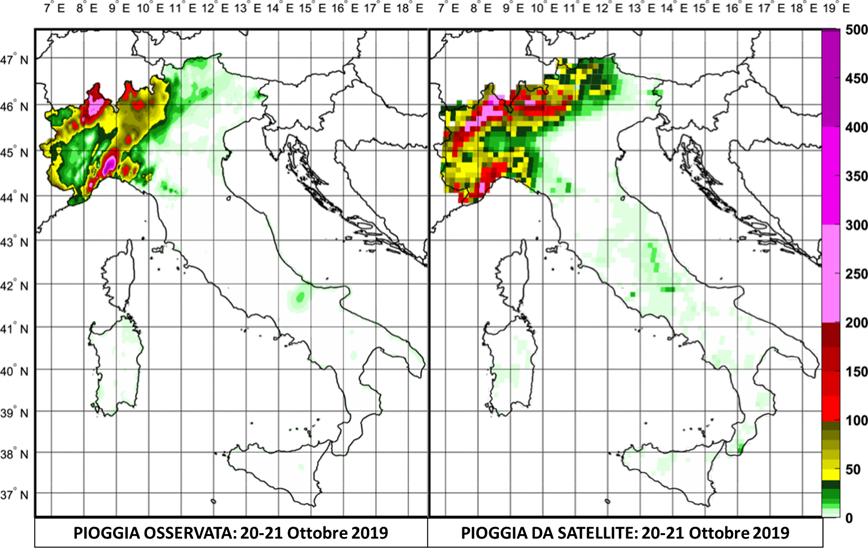 CNR modello precipitazioni