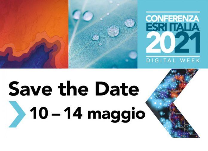 Conferenza esri Italia 2021
