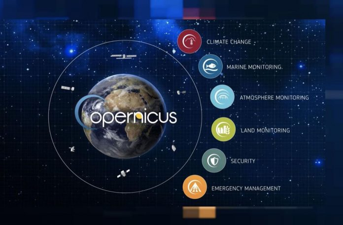 scaricare i dati satellitari Copernicus