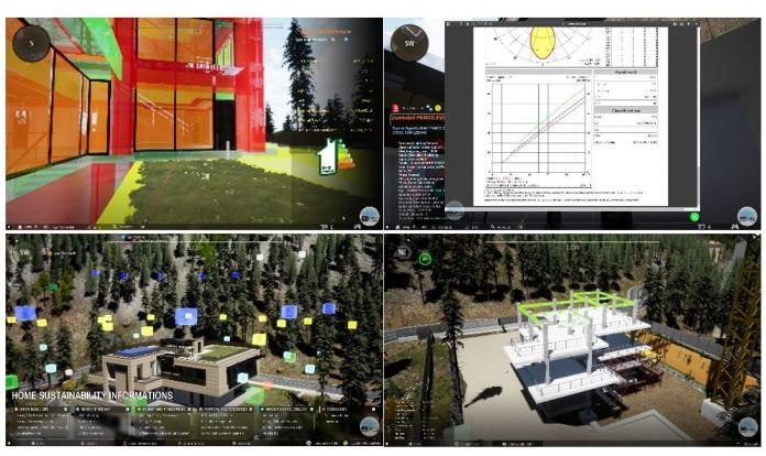 digital twin BIm e GIS