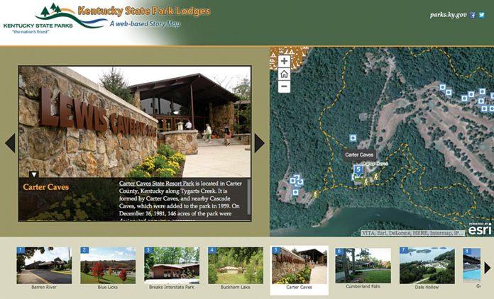 turismo digitale story maps