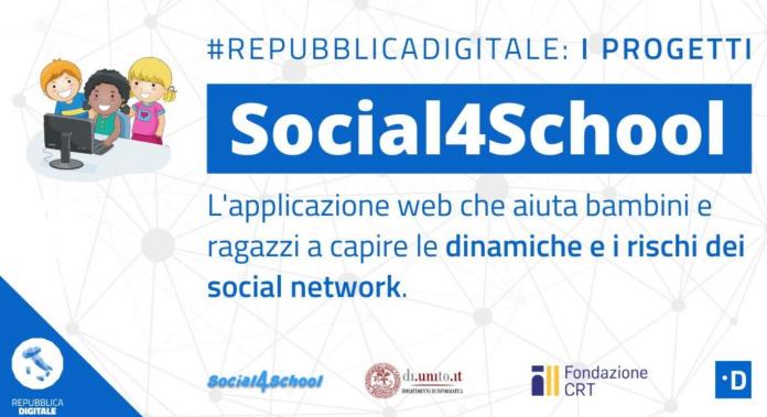 Social4School il progetto per avvicinare i ragazzi ai rischi dei social network