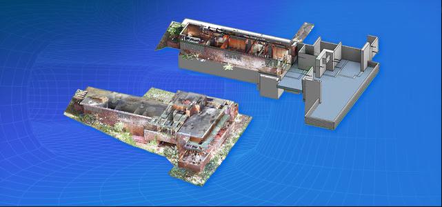 rilievo 3D per le verifiche di conformità urbanistica