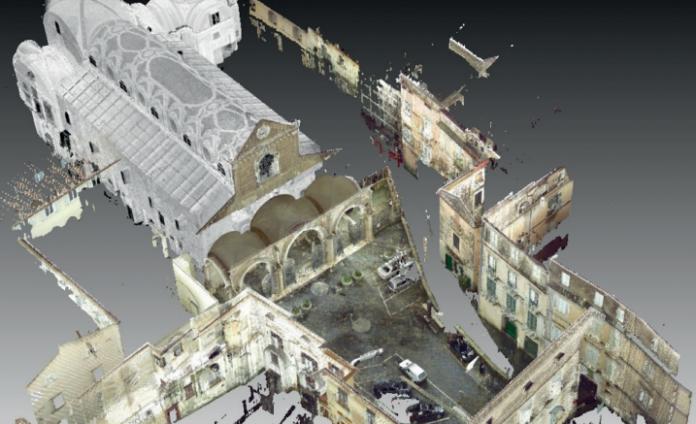 Laser scanner al servizio del patrimonio monumentale ecclesiastico italiano