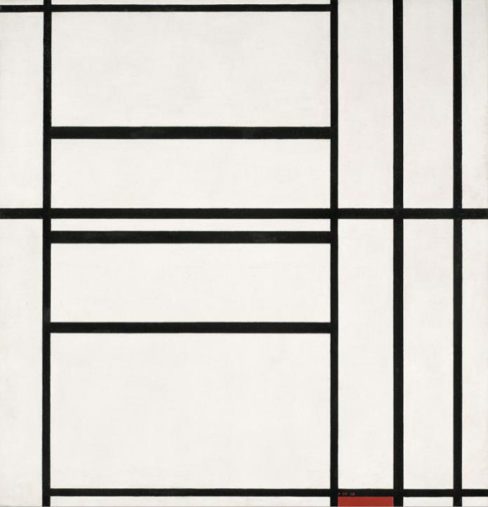 Progetto di studio e conservazione sull'opera di Piet Mondrian