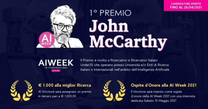 Premio John McCarthy per intelligenza artificiale