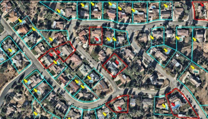 ArcGIS deep learning immagini dati geografici
