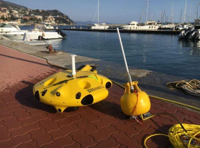 drone aereo uno subacqueo monitoraggio posidonia