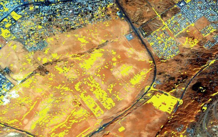 elaborazioni immagini satellitari con Azure