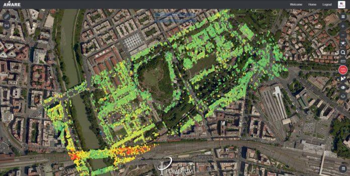 Pomerium; satelliti, droni e 5G