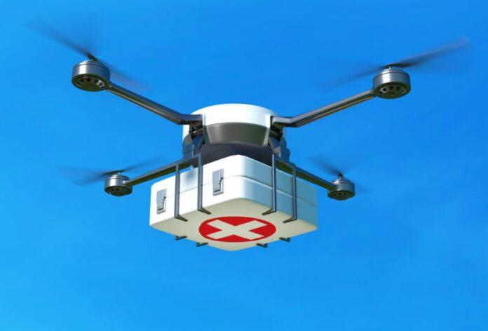 droni e intelligenza artificiale per il delivery