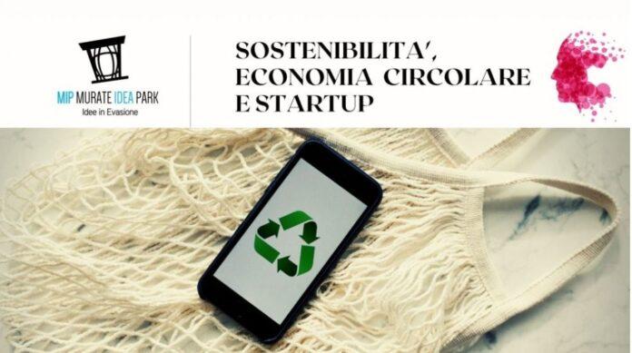 sostenibilità economia circolare e startup MIP