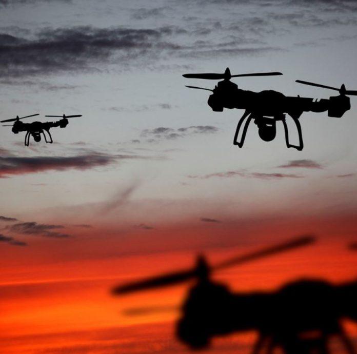 dati satellitari e droni per monitoraggio ambientale