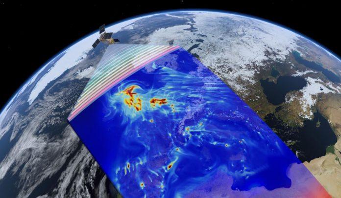 satelliti monitoraggio inquinamento gas serra