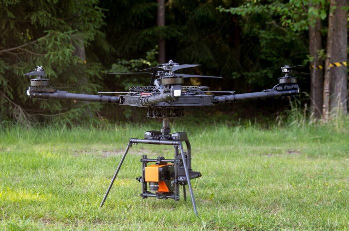 specim hyperspectral image UAV