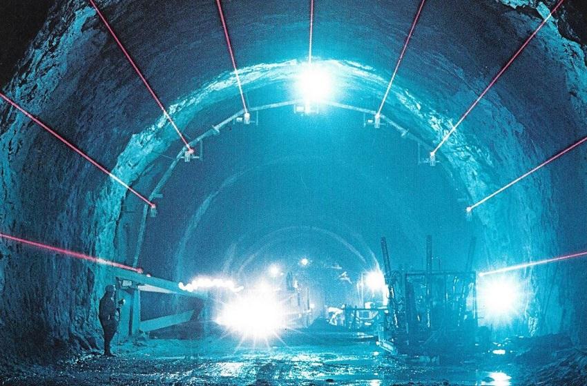 laser per gallerie VIDALASER gottardo