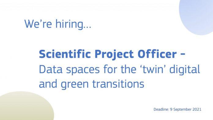 JRC cerca un Scientific Project Officer